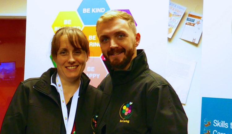 Wakefield-based family clothing firm Xamax supports Be Caring with uniform partnership